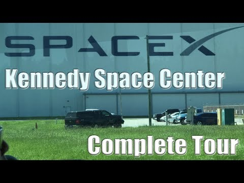 Tour Of Kennedy Space Center (complete), Including SpaceX