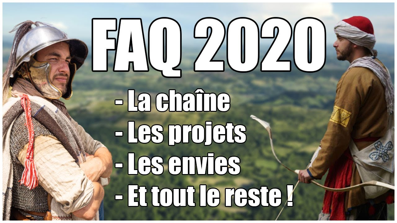 Histoire Appliquée 2020 ! - FAQ