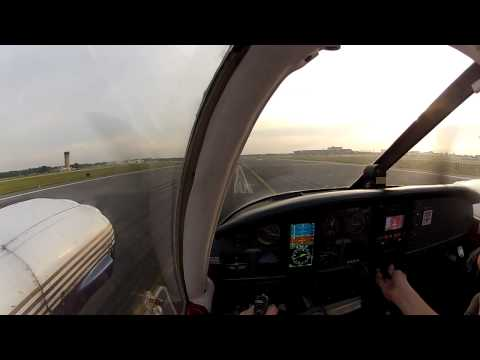 First ever takeoff in Piper Seneca PA-34-200