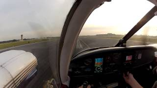 First ever takeoff in Piper Seneca PA-34-200