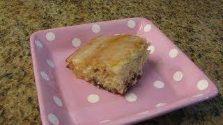 Cinnamon Roll Cake - Lynn's Recipes