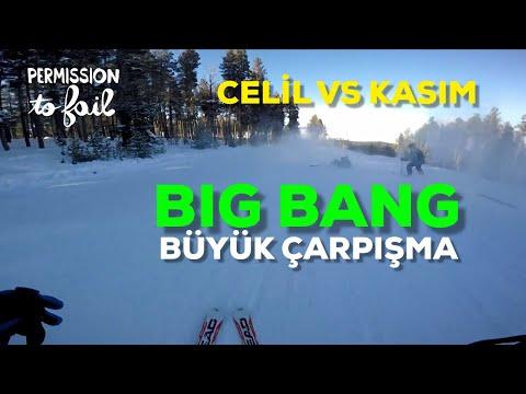 """"""" BIG BANG """" II Celil VS Kasım II 2017 Sarıkamış Kayak Merkezi"""