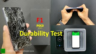 Pocophone Poco F1 Durability (Scratch, Bend, Drop, Water) Test - Why so Cheap ???