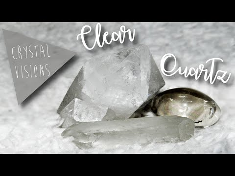 Crystal Visions: Clear Quartz | Happily Hannah