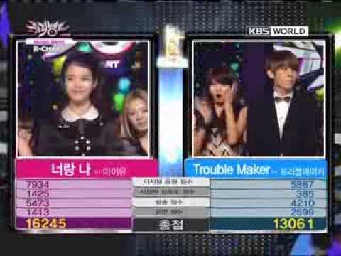 [Music Bank K-Chart] 3rd week of December & IU - You & I (2011.12.16)