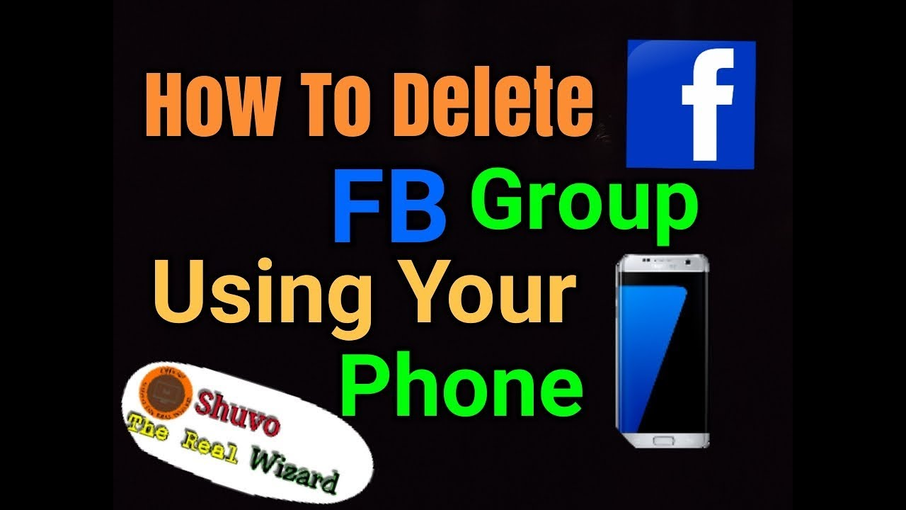 How to delete facebook group in your phonedelete group with fb how to delete facebook group in your phonedelete group with fb appdelete group using android phone ccuart Image collections