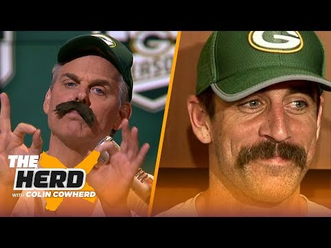 Colin Cowherd does his best Aaron Rodgers impression, talks coaching vacancy | NFL | THE HERD