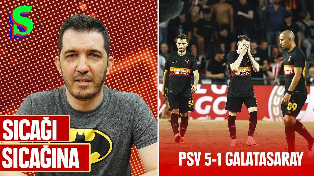🇳🇱 PSV 5-1 Galatasaray | Emre Özcan ile Sıcağı Sıcağına