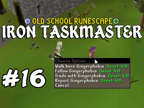Old School RuneScape Ironman #16 Quest Cape Obtained!!