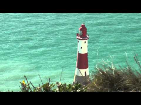 Paragliding in Eastbourne - Beachy Head cliffs and lighthouse in Eastbourne