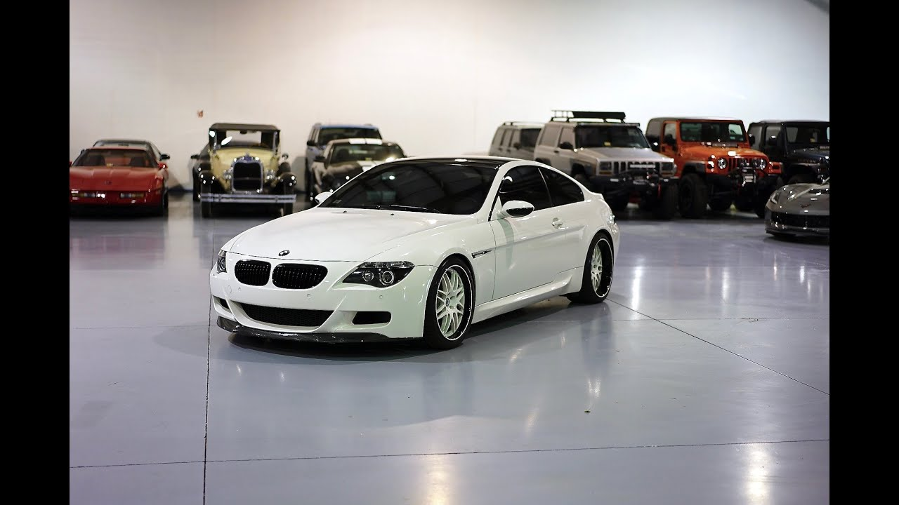 Davis AutoSports 2006 E63 M6 COUPE FOR SALE  29K MILES  HRE