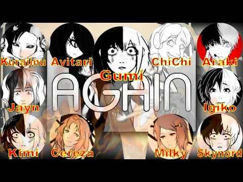 【合唱】AGAIN (CrusherP)【10人 +1α Youtaite Cover Mashup Chorus】