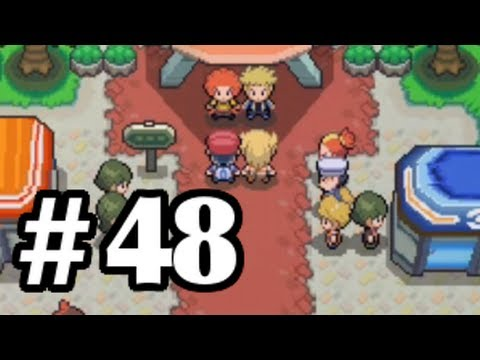 Let's Play Pokemon: Platinum - Part 48 - Flint & Volkner