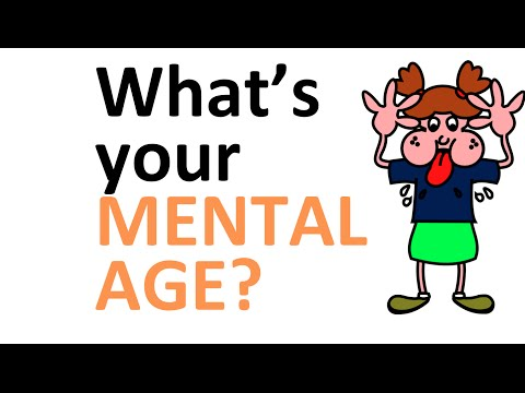 What's your Mental Age? (new personality test / brain test with answers)