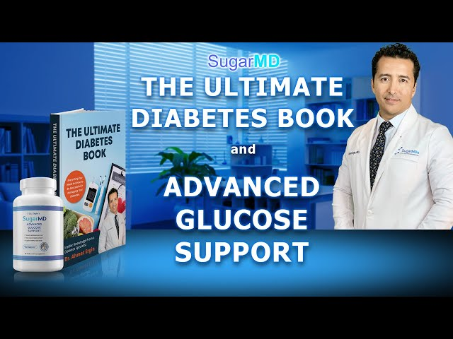 Dr. Ergin's Diabetes Book & Diabetic Supplement SugarMD