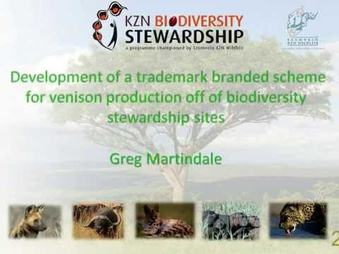 2014D2S8L4 Greg Martindale Development of a wild game certification in KZN stewardship sites