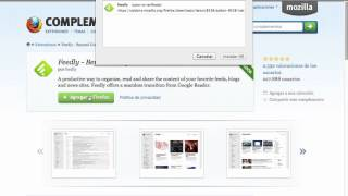 Feedly instalar complemento Firefox 2