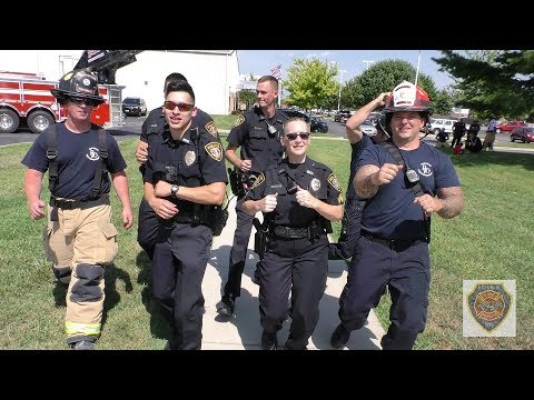 Police & Firefighters in Republic, Mo  Lip Sync and Dance to Happy, Rescue  Me, and Dirt on My Boots