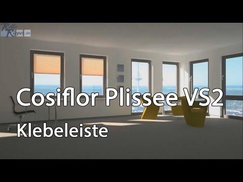 Plissee Montage Mit Klebeleisten Und Aufmaß Eines Plissee VS2 Von Rollo Rieper