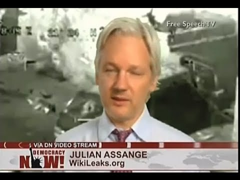 Wikileaks' Julian Assange on Democracy Now! Full