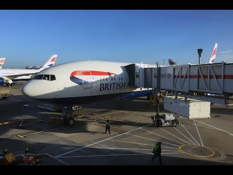 Takeoff | British Airways | London (LHR) - New York (JFK) | Boeing 777-200ER