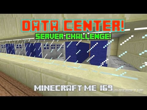 Building a Data Center in Minecraft!