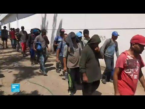 صور لمهاجرين على الحدود الأمريكية المكسيكية.. حقيقة أم دعاية؟