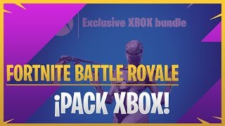 POSSIBLE XBOX EON EXCLUSIVE PACK - FORTNITE BATTLE ROYALE