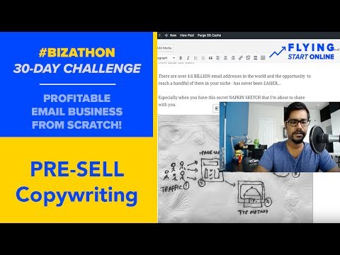 Effective Pre-Sell Copywriting For Thank You Pages - (Day 7/30) #Bizathon