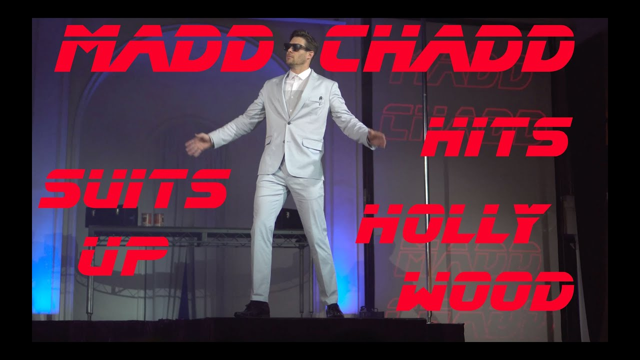 Download Madd Chadd suits up and hits Hollywood