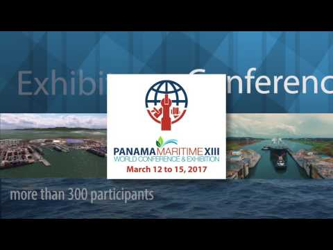 """""""Panama Maritime XIII, 2017, Come to the Center of The Action"""""""