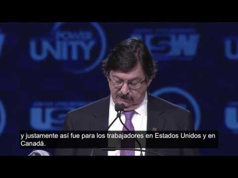 Napoleon Gomez Urrutia Convención de los USW