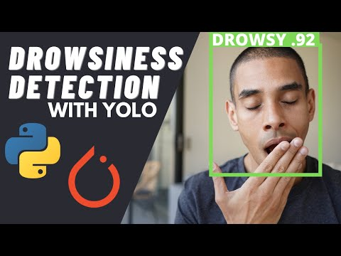 Deep Drowsiness Detection using YOLO, Pytorch and Python