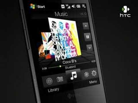 HTC Touch Diamond: TouchFLO 3D -- Music (High-Res)