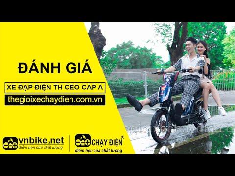 Đánh giá xe đạp điện TH CEO Cap A