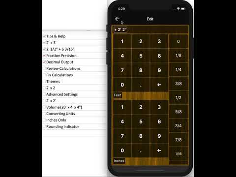 Feet Inches Construction Calculator Apps On Google Play