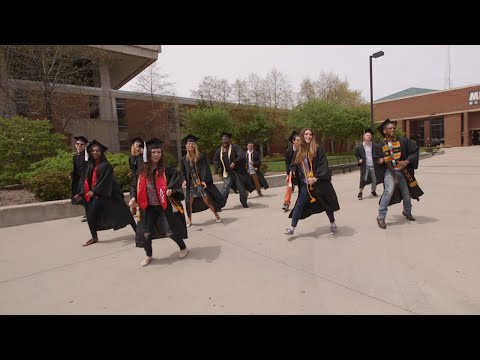 """CAN'T STOP THE FEELING!"" - UW-Milwaukee Graduation Edition"