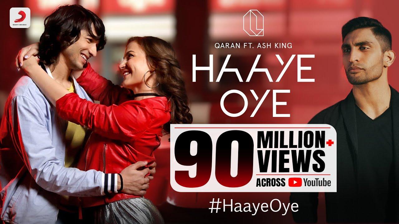 Download Haaye Oye - QARAN ft. Ash King   Elli AvrRam   Shantanu Maheshwari   Vishal Handa