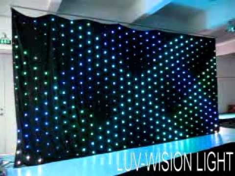 Curtains Ideas curtain lighting : LUV-LVC306(P20) stage lighting,led curtain,led video vision ...
