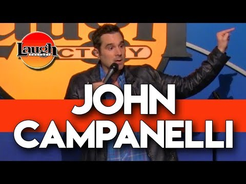John Campanelli   Worst Person On Earth   Laugh Factory Stand Up Comedy