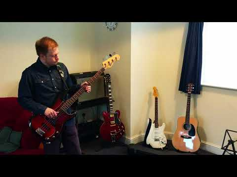 My Silver Lining by First Aid Kit - Bass Cover by Jonathan Coe