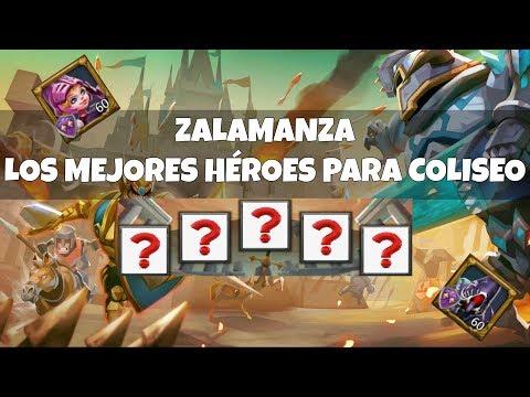 Lords Mobile (Español) - Coliseo   Qué Heroes Usar F2P Y P2W   Consejos