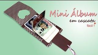 Mini Álbum em Cascata