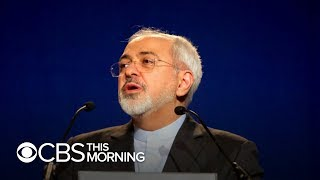 Iran's foreign minister says it was minutes away from war with U.S. last month