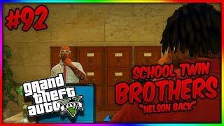 GTA 5 School Twin Brothers Ep. 92 - NELSON BACK! (GTA 5 SKIT)