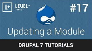Drupal Tutorials #17 - Updating a Module