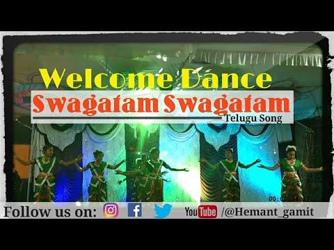 WELCOME DANCE - SWAGATAM SWAGATAM [ TELUGU SONG ] | C  N  I  KIKAKUI
