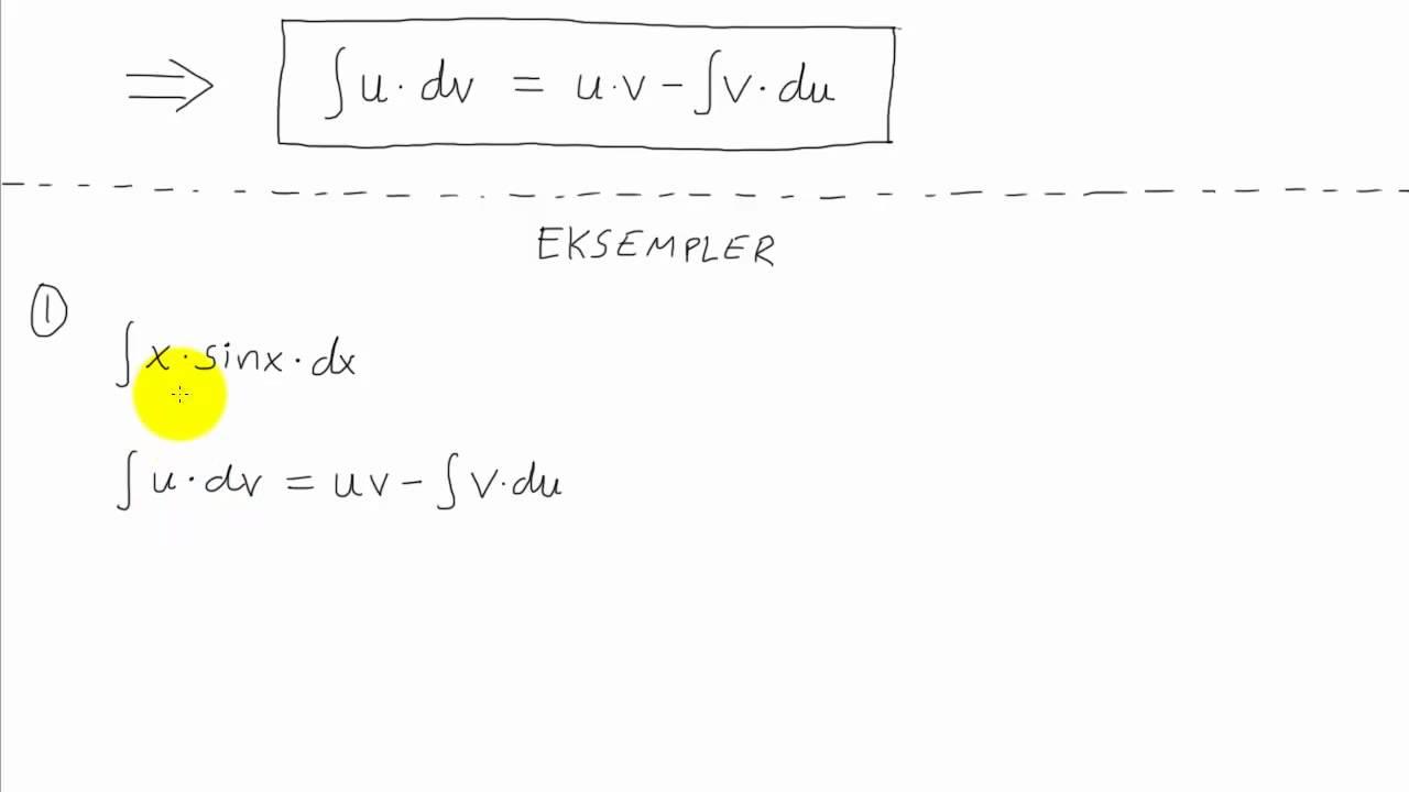 Matematikk R2 - 066 - Delvis integrasjon