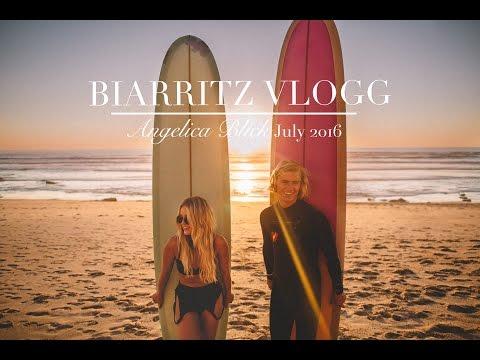 TRAVEL VLOGG  Biarritz w Angelica Blick