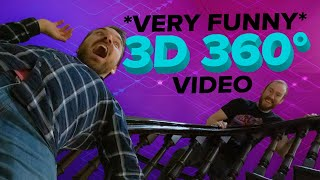 Very Funny 3D 360 Video: The Magic Hallway